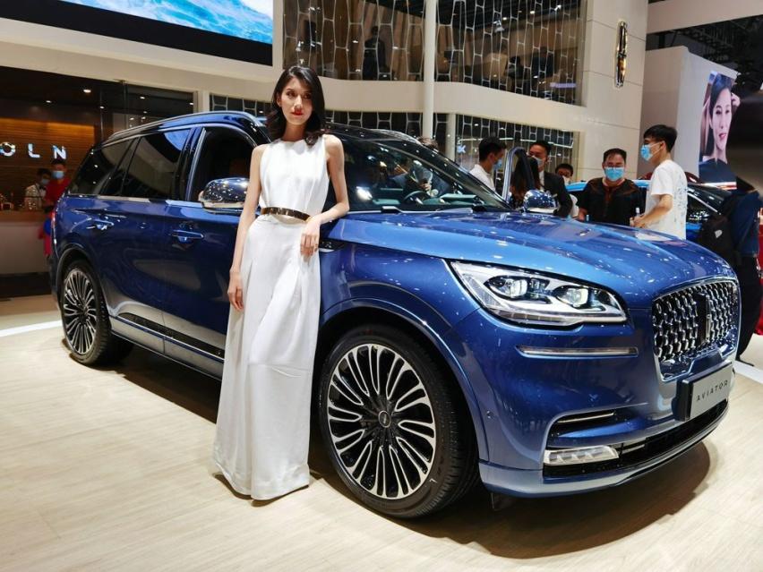 家族全新中大型SUV 林肯飞行家亮相重庆车展