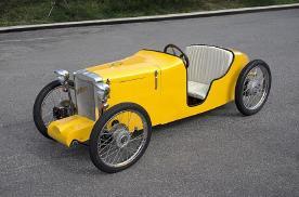 最高时速30公里每小时,只能收藏用,纯电动老爷车你喜欢吗?