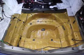 西安车凯胜奥迪A6汽车隔音改装大白鲨 安静舒适