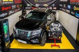 【菲林快讯】#尼桑纳瓦拉配备GTR发动机#