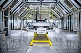领克ZERO concept量产车白车身下线 预计明年下半年