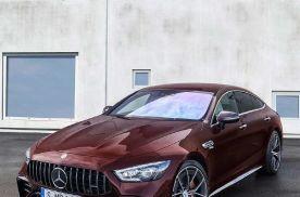新款奔驰AMG GT四门跑车发布,外观细节调整,运动感提升