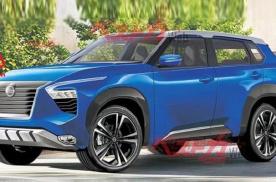 日产的中大型SUV要来了,硬汉和科技感兼备