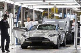 合作共赢 阿斯顿马丁将用股权换取奔驰电动车技术和平台