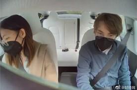 看了车内摄像头画面,才知道自己在车里裸奔