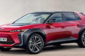 终于忍不住了!丰田发布全新纯电SUV预告,上海车展全球首发