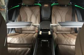 20款迈巴赫S450五座改四座行政座椅配件解说