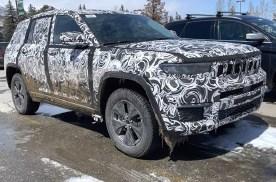 或将于下半年亮相  Jeep大切诺基4xe谍照曝光