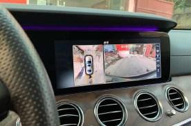 奔驰E级加装原厂360全景倒车影像新手秒变老司机