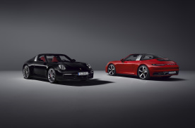 全新保时捷911 Targa 4 / Targa 4S发布