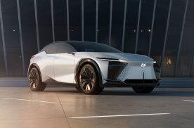 雷克萨斯电气化概念车LF-Z 将亮相上海国际车展