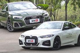 时下两款最热门无框车门进口轿跑!40万预算买4系还是A5轿跑?