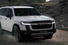 全新兰德酷路泽迪拜首发!发动机、变速箱和平台全换新?