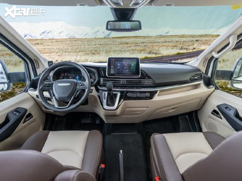 2021款 上汽大通 RV90 2.0T生活家V90自行式C型房车旗舰版小额头横床