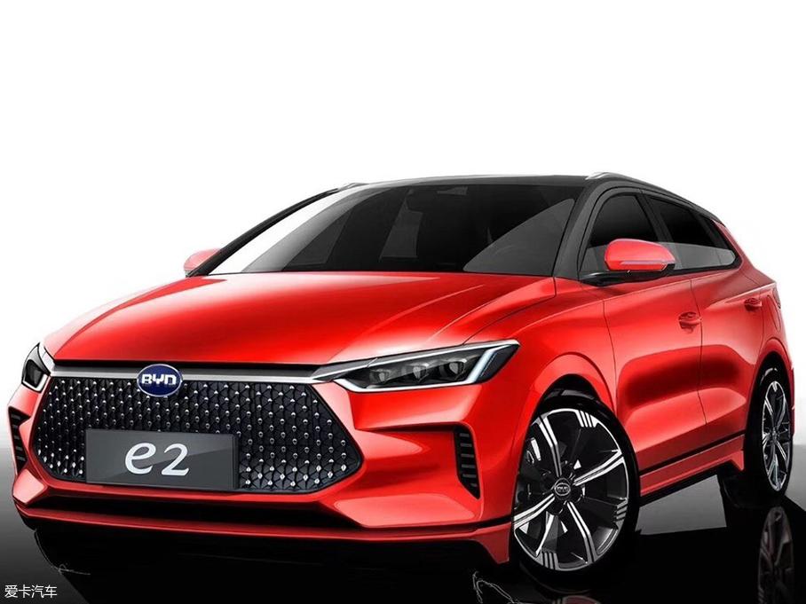 比亚迪e2热卖中 目前售价8.98万起