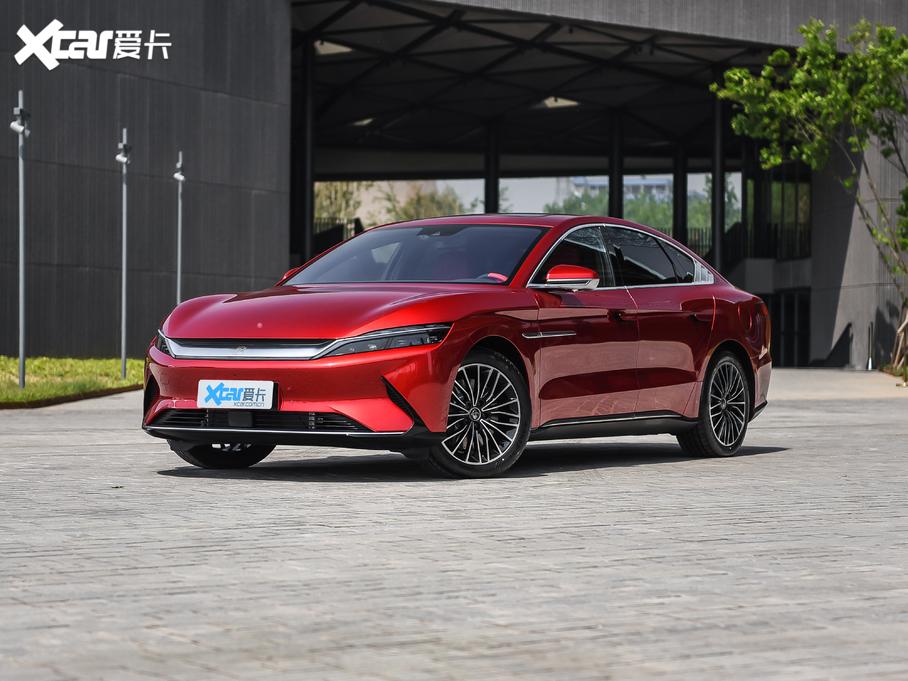 汉EV火热促销中 目前售价22.98万起
