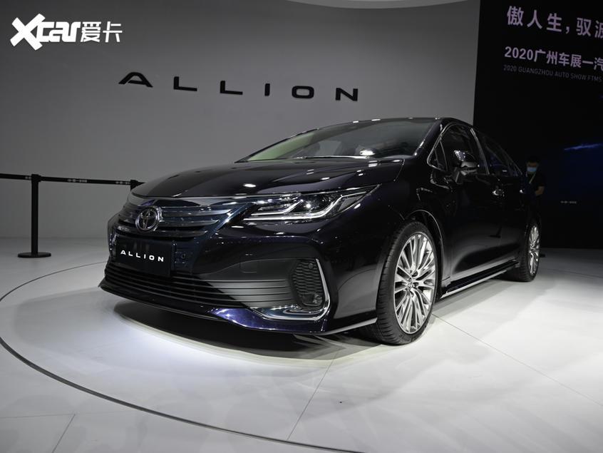 一汽丰田2021款傲澜