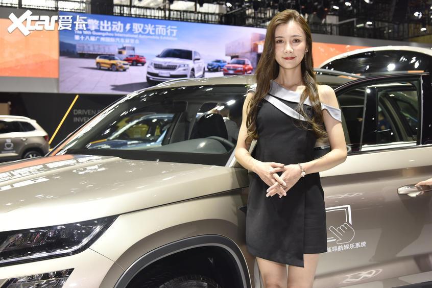广州车展车模