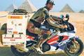 荷兰探险家计划挑战骑摩托车至北极点