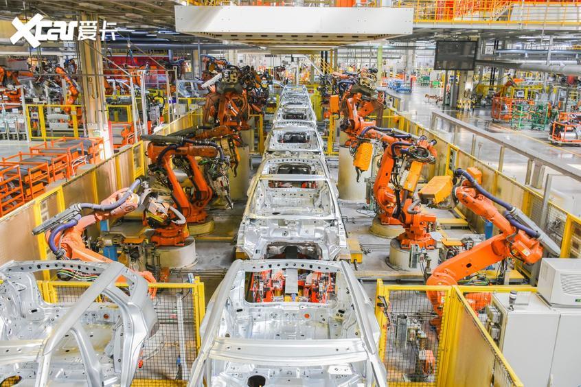 奇瑞捷豹路虎工厂
