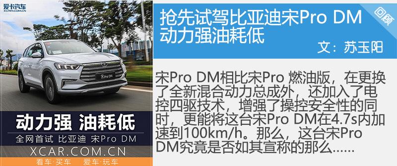 比亚迪宋Pro DM;四驱性能版