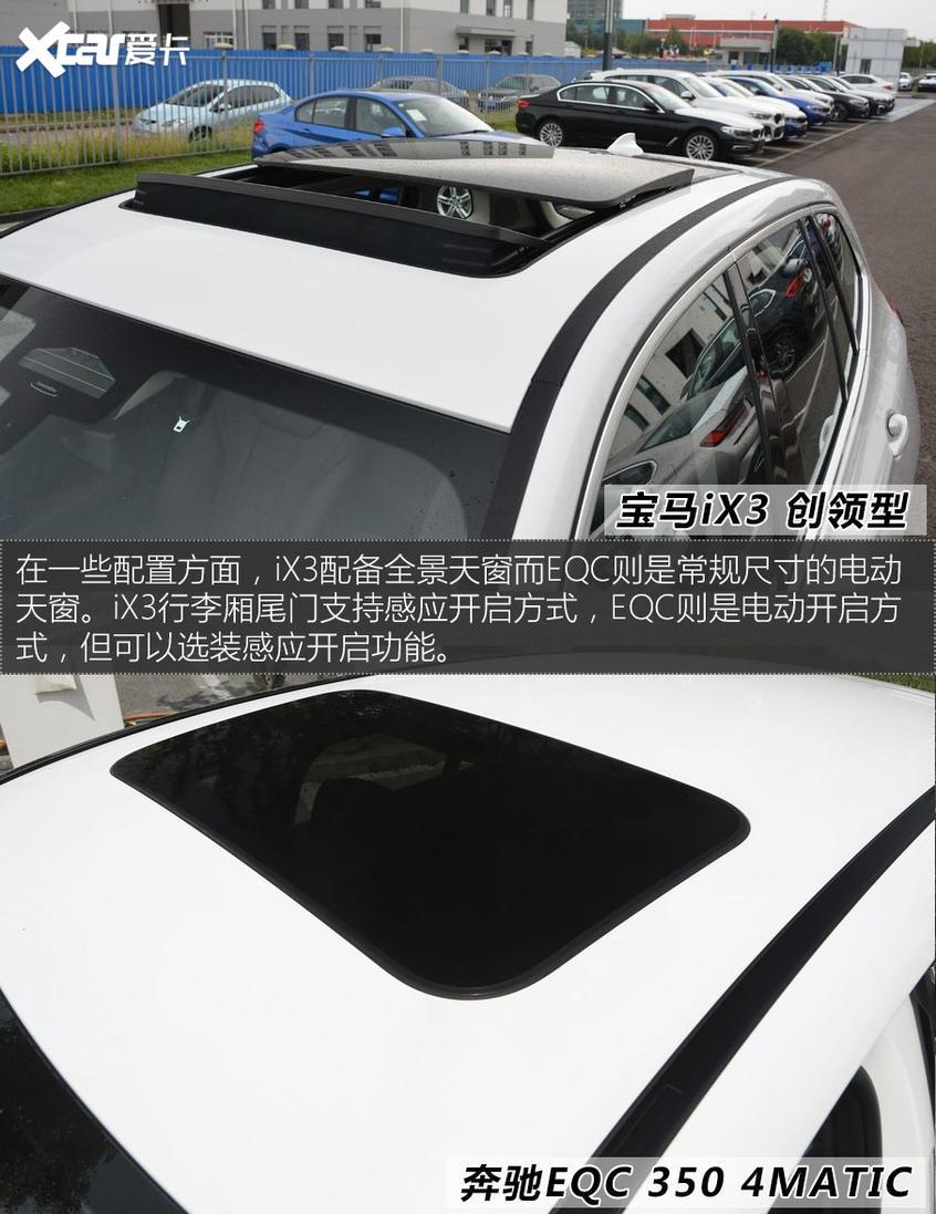 宝马iX3对比奔驰EQC