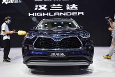全新汉兰达 上海车展合资/进口SUV点评