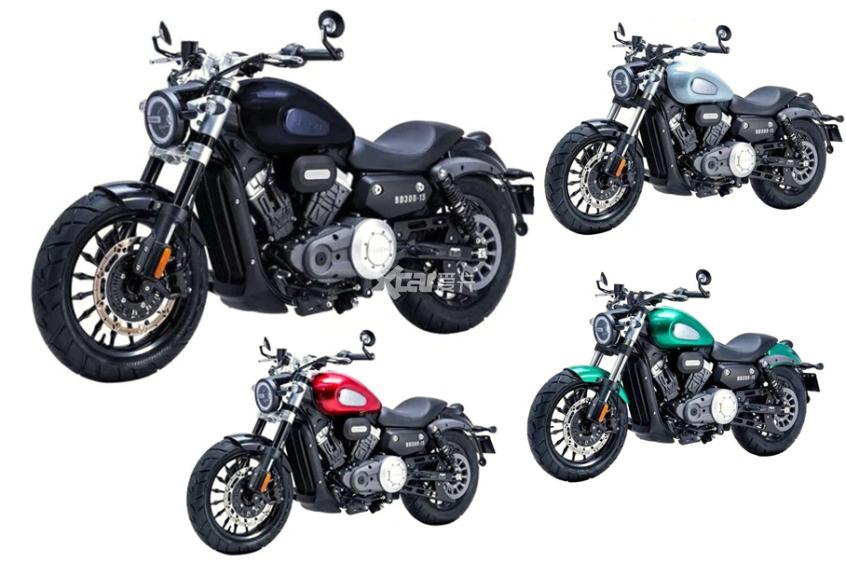 四缸摩托;大排量;奔达摩托;LFC700;运动巡航车