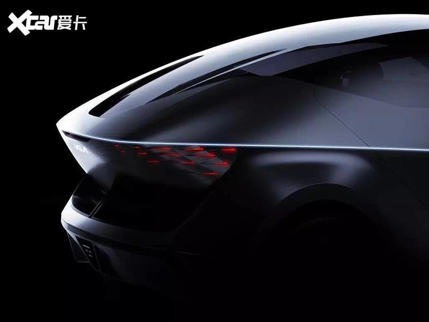 起亚FUTURON概念车预告图 11月5日首发