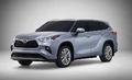 丰田全新一代汉兰达年底上市 造型硬朗
