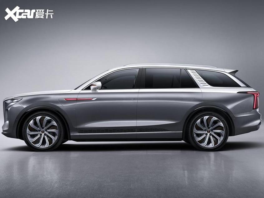 红旗E-HS9官图发布 定位纯电动大型SUV