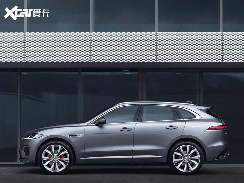 新款捷豹F-PACE车型官图 外观细节调整