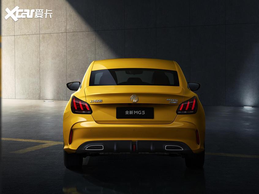 全新名爵5实车曝光 将北京车展正式亮相