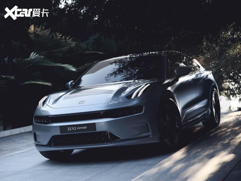领克ZERO Concept发布 2021下半年上市