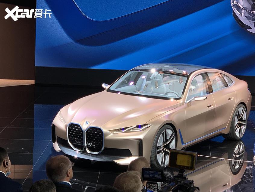 北京车展:宝马i4概念车正式国内首发