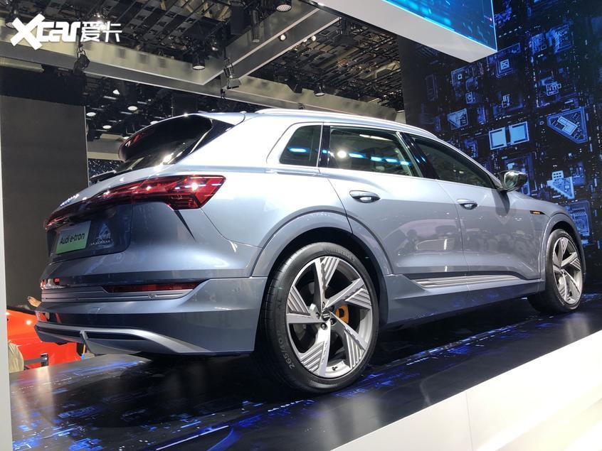 北京车展 一汽-大众奥迪e-tron正式发布