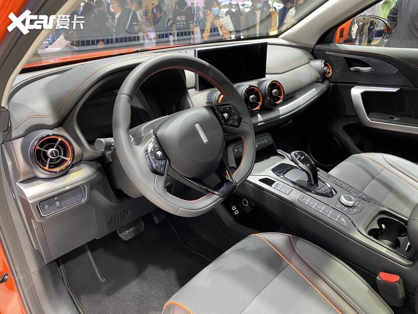 北京车展:2021款VV5元气橙版车型首发