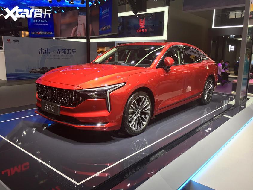 北京车展:第三代奔腾B70亮相/11月上市
