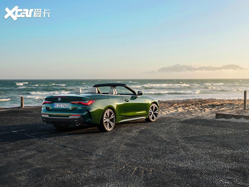 宝马4系敞篷版广州车展上市 增全新配色
