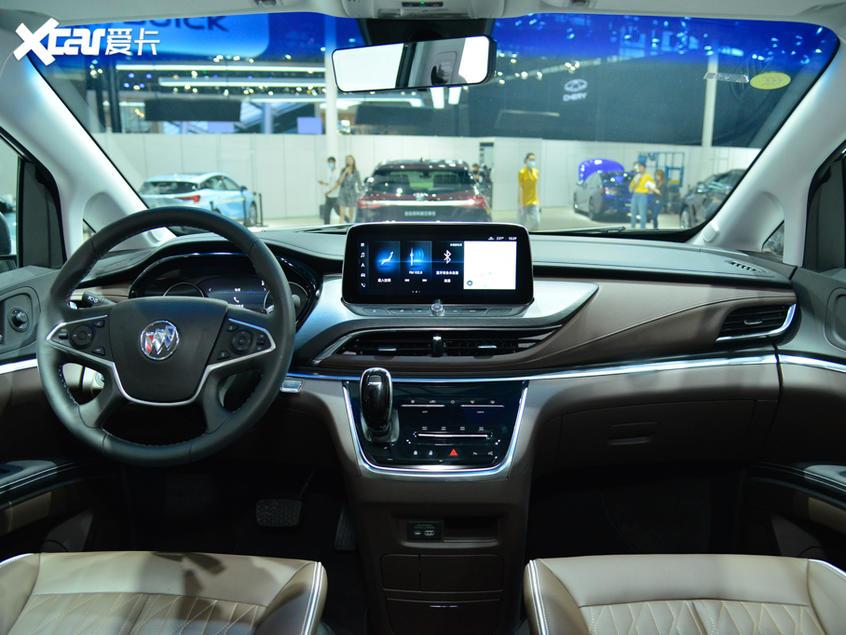广州车展 GL8陆上公务舱谦雅定制版亮相