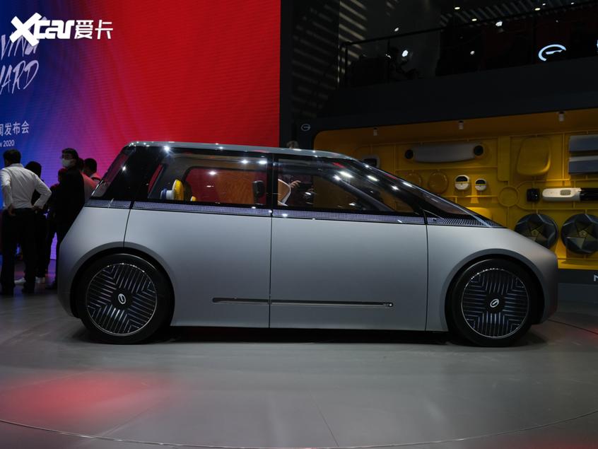 广州车展:广汽全新MOCA概念车正式亮相