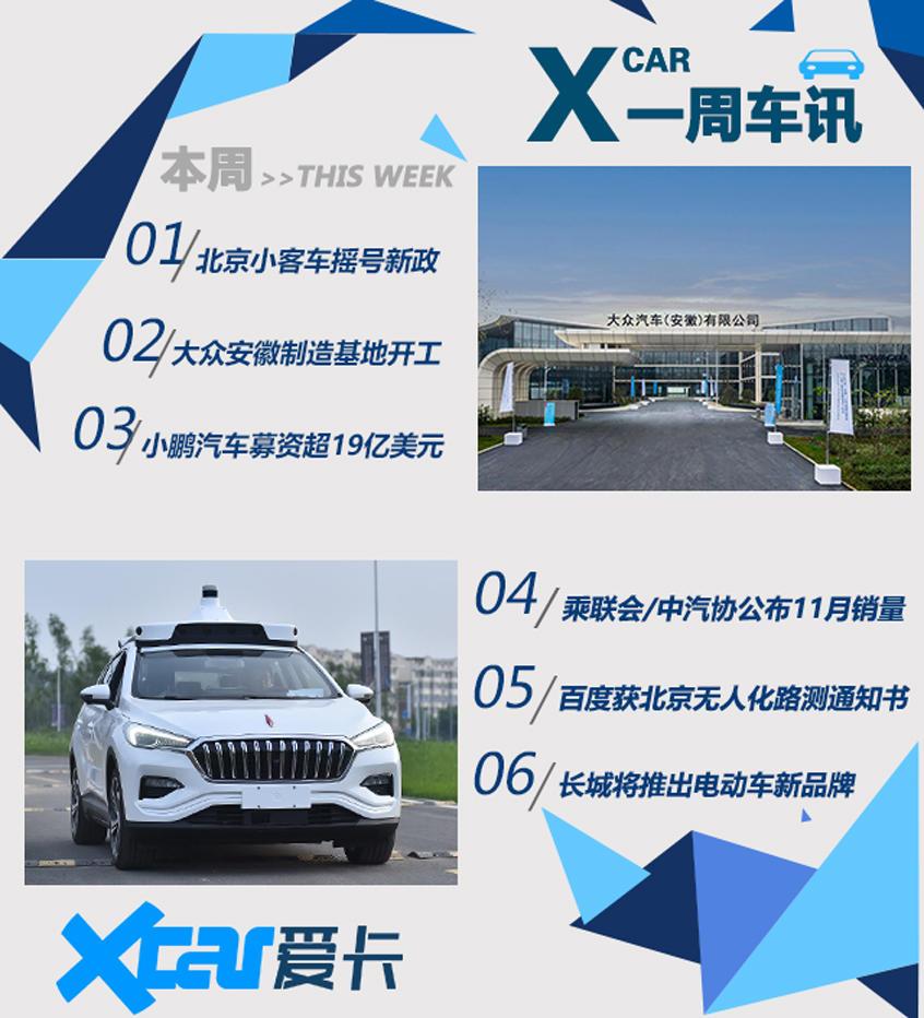 一周车讯 北京摇号新政/长城打造新品牌