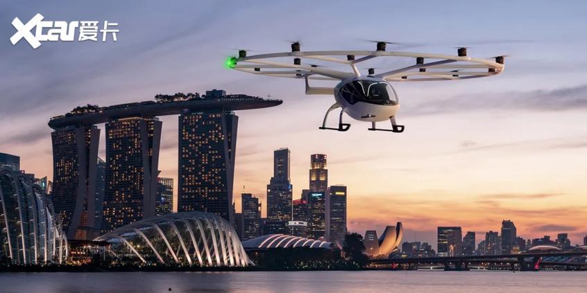 新加坡将于2023年推出飞行出租车服务