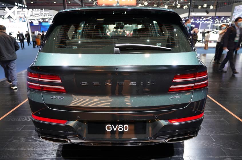 2020进博会:捷尼赛思GV80正式国内亮相