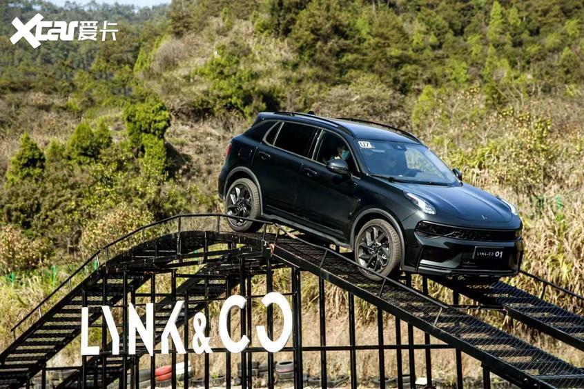 新款领克01实车曝光 将于广州车展预售