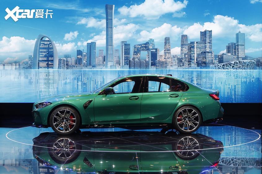 北京车展 全新宝马M3/M4雷霆版全球首发