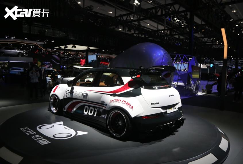 广州车展:全新欧拉好猫赛道版正式亮相