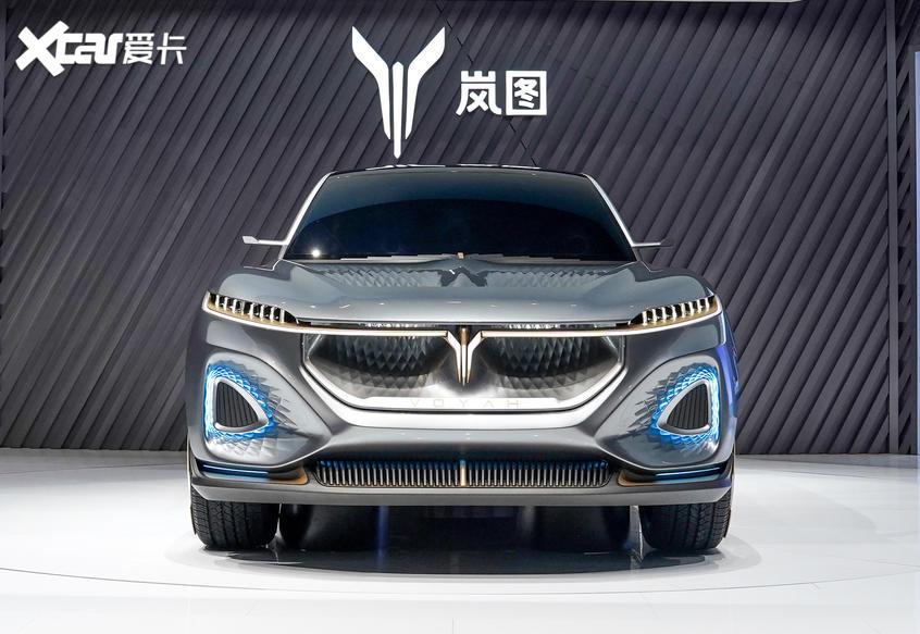 北京车展 岚图发布首款量产概念车iFree