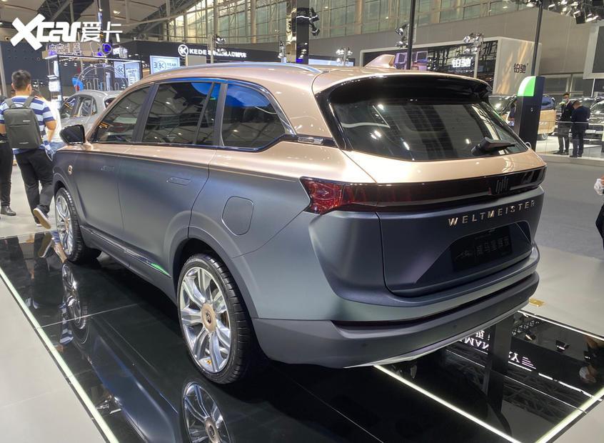 广州车展:威马EX6 PLUS星辉版正式亮相