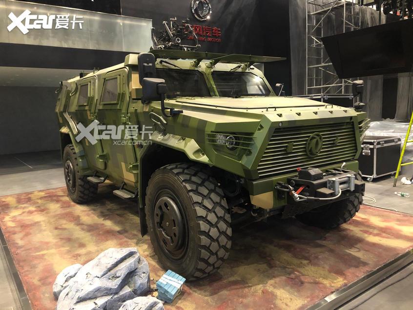 2020北京车展:第三代东风猛士装甲车